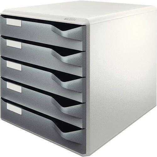 Leitz Aflegbox, post- en formulierenset, kastframe in grijs Leitz