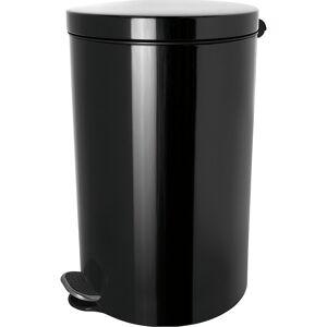 helit Pedaalemmer met zilverionen coating, inhoud 5 l, h x Ø = 280 x 210 mm helit