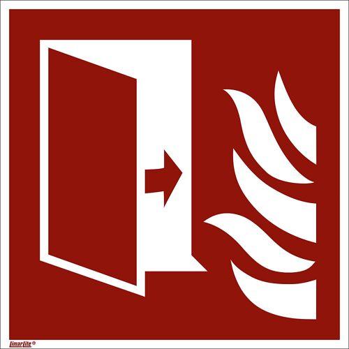 Borden voor brandbeveiliging, branddeur, VE = 10 stuks