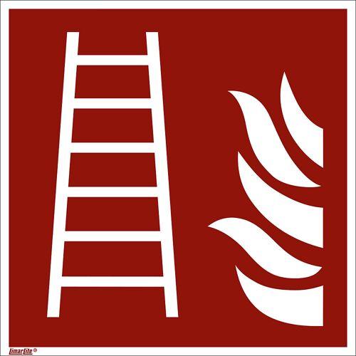 Borden voor brandbeveiliging, ladder, VE = 10 stuks
