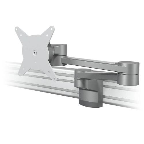 Dataflex Monitorarm VIEWLITE, voor railsysteem, twee stabilisatoren Dataflex