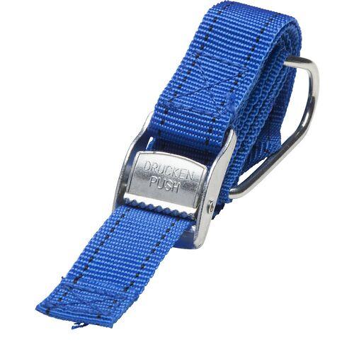 Textielspanband, blauw