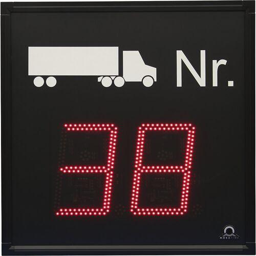 LED-indicatie, oproep vrachtwagen, h x b x d = 700 x 700 x 60 mm