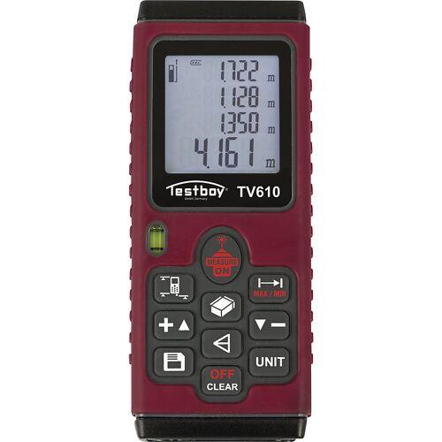 Laserafstandsmeter, h x b x d = 27 x 124 x 49 mm