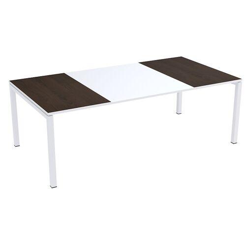 Paperflow easyDesk® conferentietafel, h x b x d = 750 x 2200 x 1140 mm Paperflow