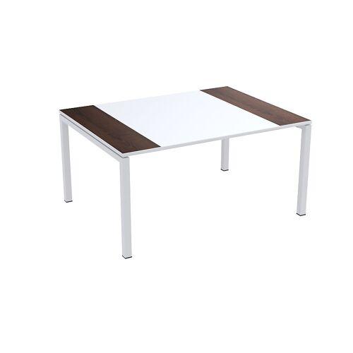 Paperflow easyDesk® conferentietafel, h x b x d = 750 x 1500 x 1160 mm Paperflow