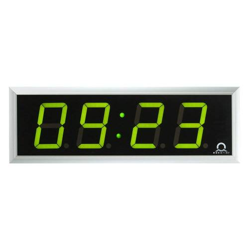 LED digitale klok, h x b x d = 118 x 333 x 39 mm
