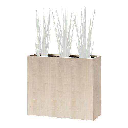Plantenbak, heuphoog, voor 3 planten