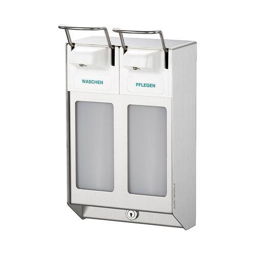 AIR-WOLF Rij-dispenser, met 2 dispensers à 1000 ml AIR-WOLF