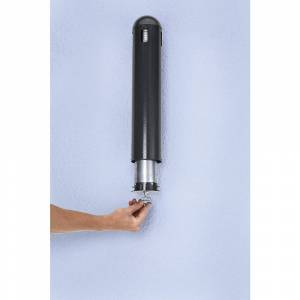 Design wandasbak voor binnen en buiten, inhoud 1 l, h x b x d = 500 x 105 x 110 mm