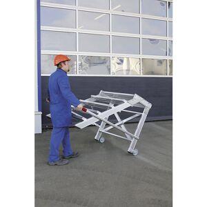 Guenzburger Bordestrap, breedte van de sporten 800 mm, draagvermogen 200 kg Guenzburger