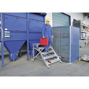 Guenzburger Bordestrap, breedte van de sporten 600 mm, draagvermogen 200 kg Guenzburger