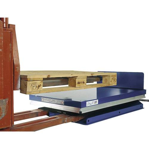 Edmolift Hef-kantelapparaat, G-platform, kantelen via de korte zijde Edmolift