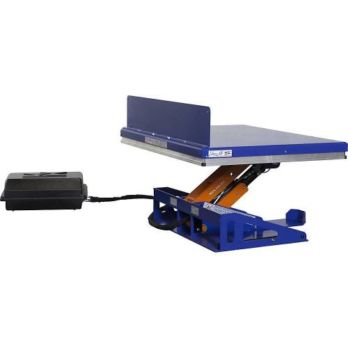 Edmolift Hef-kantelapparaat, G-platform, kantelen via de lange zijde Edmolift