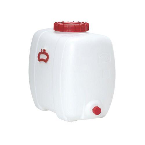 Ruimtebesparende tank, inhoud 60 liter