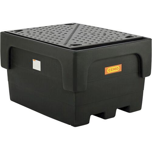 CEMO PE-opvangbak voor tankcontainers IBC/KTC, voor 1 x IBC/KTC-container CEMO