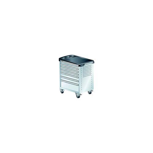 LISTA Werkplaatswagen, met kunststof afdekplaat LISTA