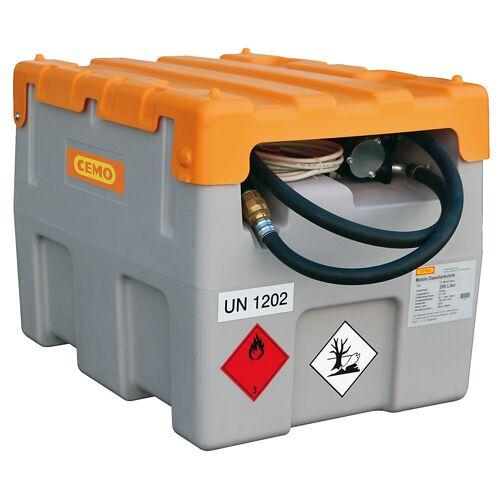 CEMO DT-Mobil Easy tankinstallatie voor diesel, inhoud 200 l, met elektrische pomp 12 V, 40 l/min CEMO