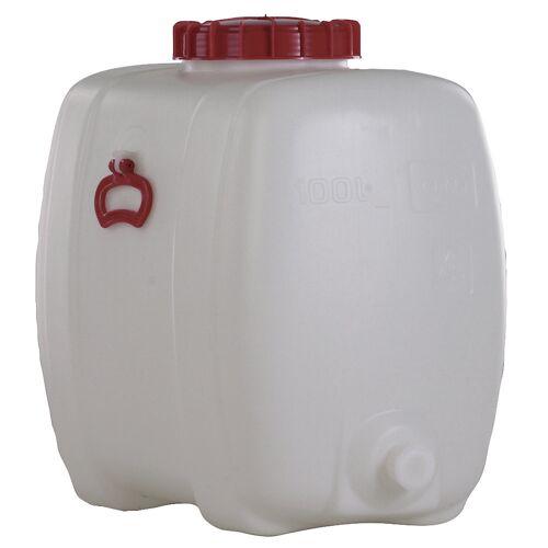 Ruimtebesparende tank, inhoud 100 liter