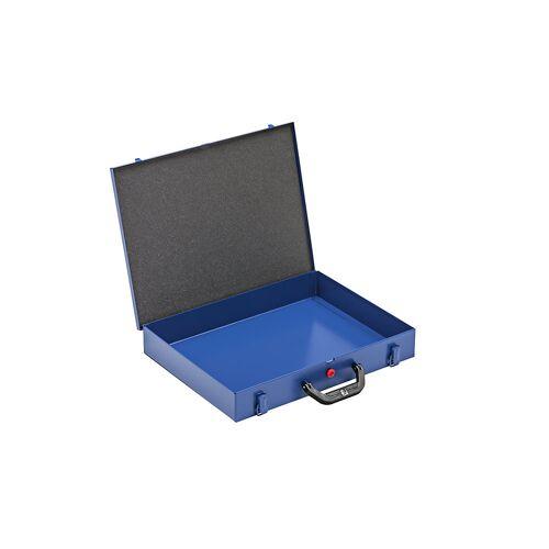 Koffer voor kleine onderdelen met inzetbakken, b x d = 440 x 370 mm
