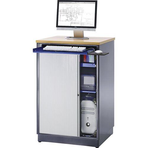 RAU Computerwerkplek, h x b x d = 1100 x 720 x 660 mm RAU