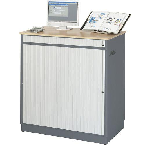 RAU Computerwerkplek, h x b x d = 1100 x 1030 x 660 mm RAU