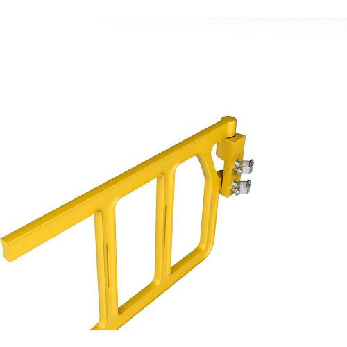 Pijpklem voor industriële veiligheidsdeur, roestvast staal