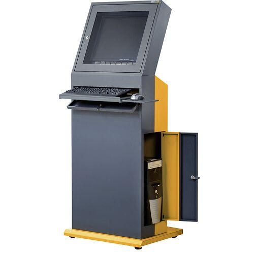 QUIPO Pc-terminal, h x b x d = 1600 x 650 x 600 mm QUIPO