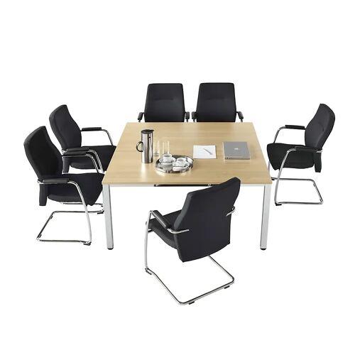 Conferentietafel, vierkant, h x b x d = 720 x 1400 x 1400 mm