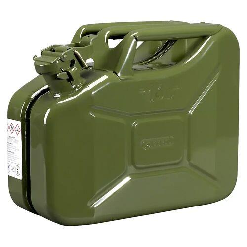 PRESSOL Metalen brandstof jerrycan, inhoud 10 l, VE = 5 stuks PRESSOL