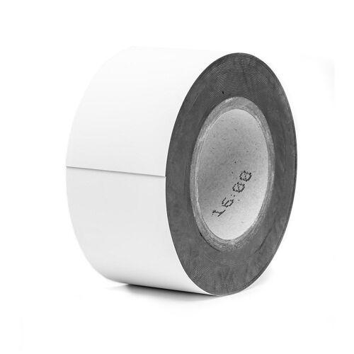 Magnetische labels, op rol, wit