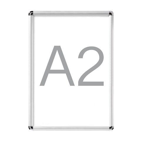 Display-klapframe, aluminium, VE = 2 stuks