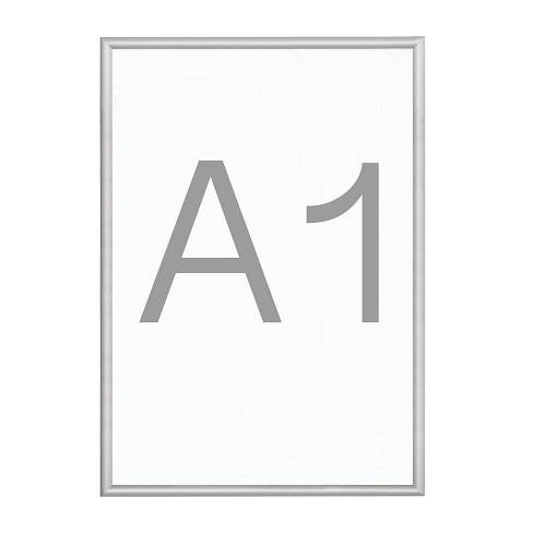 B1-klapframe, aluminium profiel, VE = 2 stuks