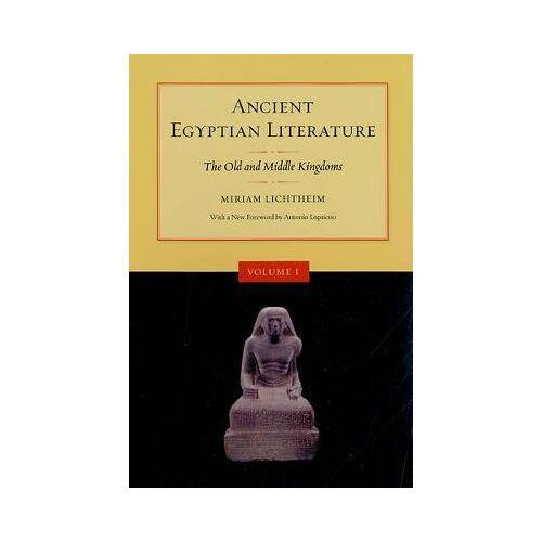 Ancient Egyptian Literature, Volume I by Antonio Lopriano