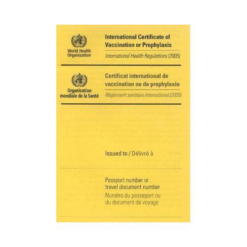 International Certificate of by World Health Organization