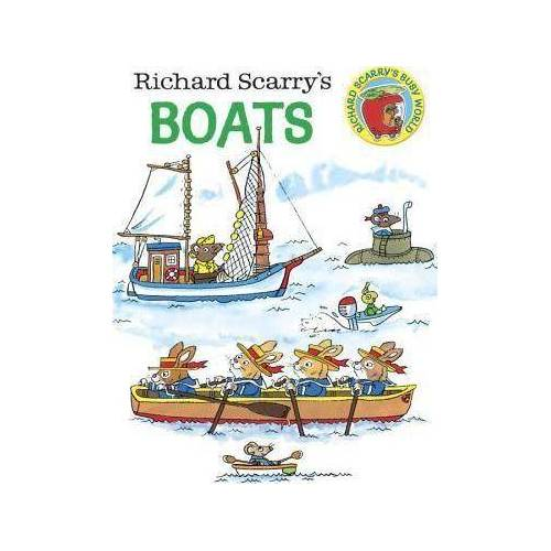 Richard Scarry's Boats by Richard Scarry