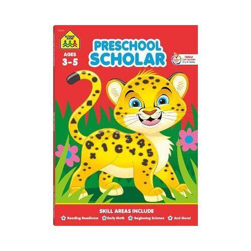School Zone Preschool Scholar Workbook by School Zone