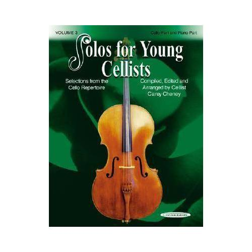 Solos for Young Cellists 3 by Carey Cheney