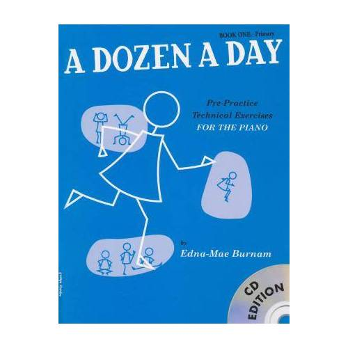 A Dozen a Day Book 1 + CD Primary by Edna-May Burnam