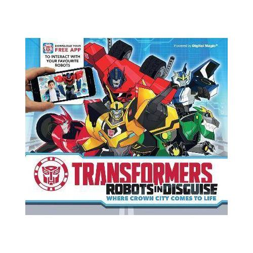 Transformers - Robots in Disguise by Caroline Rowlands