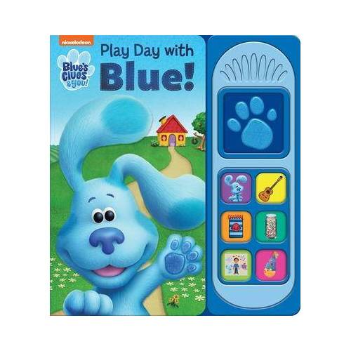 Blues Clues Little Sound Book by P I Kids