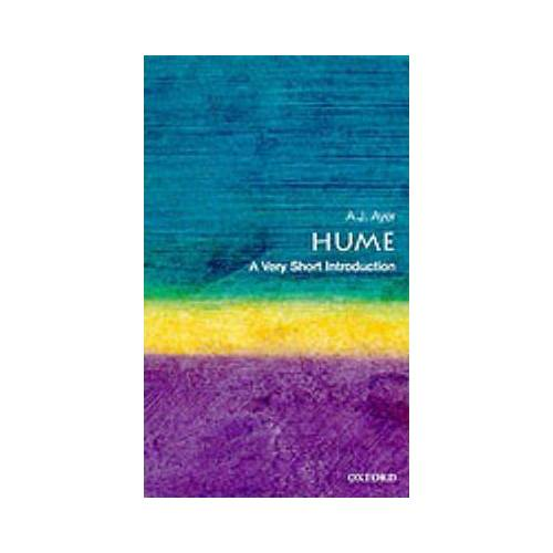 Hume: A Very Short Introduction by Alfred Ayer