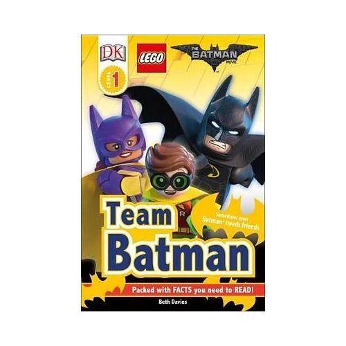DK Readers L1: THE LEGO (R) BATMAN MOVIE Team Batman by DK
