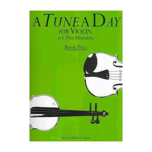 A Tune a Day for Violin Book Two by C. Paul Herfurth