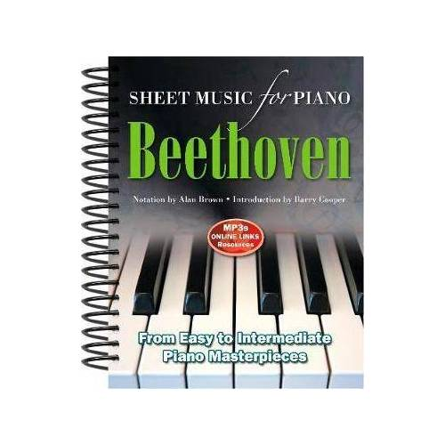 Ludvig Van Beethoven: Sheet Music for Piano by Alan Brown