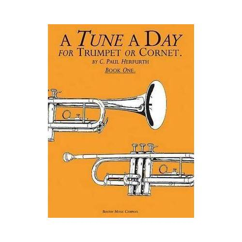 A Tune a Day for Trumpet or Cornet Book One by C. Paul Herfurth