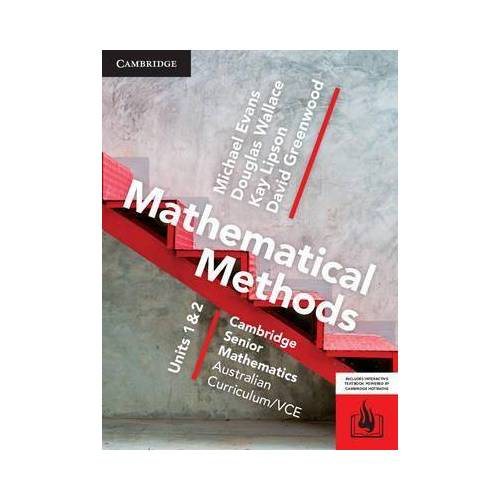 CSM VCE Mathematical Methods Units 1 and 2 by Michael Evans
