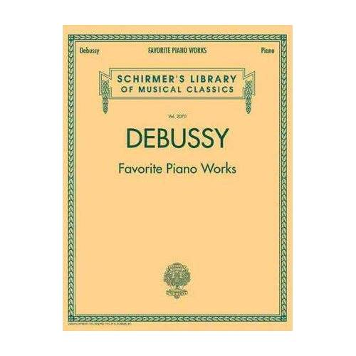 Favourite Piano Works by Claude Debussy