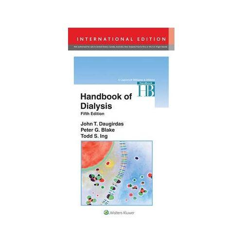 Handbook of Dialysis by John T. Daugirdas