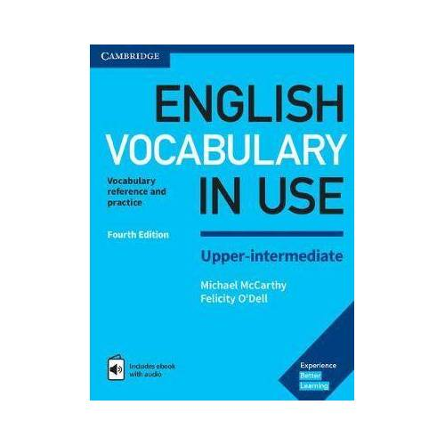 English Vocabulary in Use Upper-Intermediate Book by Michael McCarthy